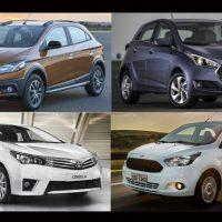 Onix, Hb20, Ka e Sandero foram mais carros mais vendidos no País, em abril