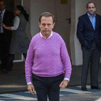 Governador Joao Filho da Puta Doria e seu charme de ditador cor de rosa